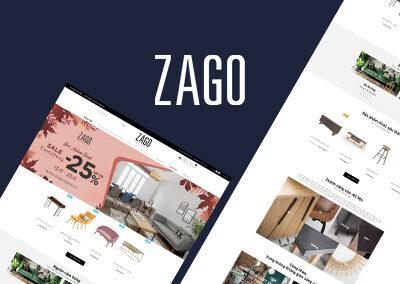 Xây dựng, tối ưu hóa website ZAGO
